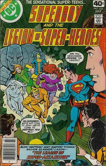Superboy and the Legion of Super-Heroes 253-A by DC