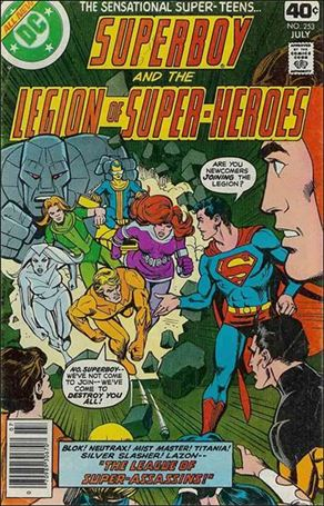 Superboy & the Legion of Super-Heroes 253-A