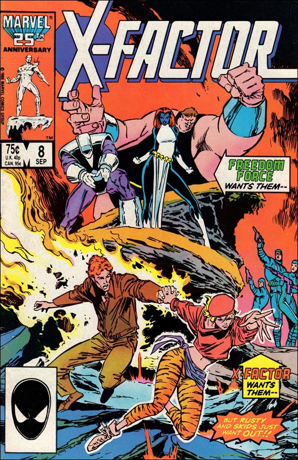 X-Factor (1986) 8-A by Marvel