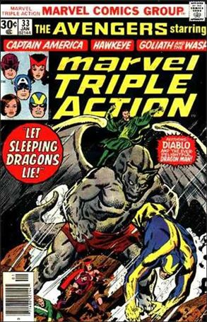 Marvel Triple Action (1972) 33-A
