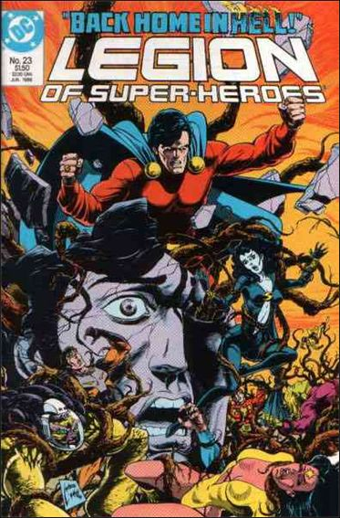 Legion of Super-Heroes (1984) 23-A by DC