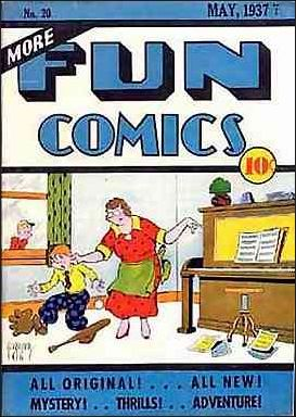 More Fun Comics 20-A by DC