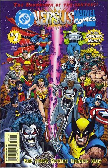 DC Versus Marvel/Marvel Versus DC 1-C by DC