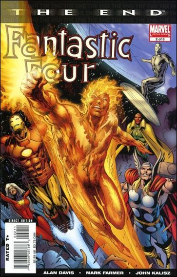 Fantastic Four: The End 2-A by Marvel