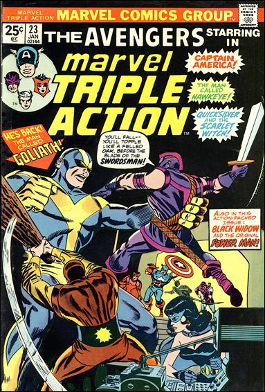 Marvel Triple Action (1972) 23-A by Marvel