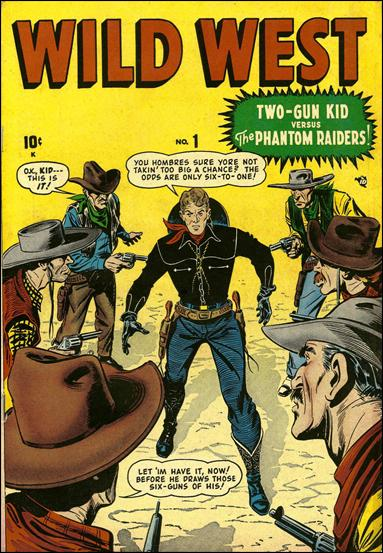 Wild West 1-A by Marvel
