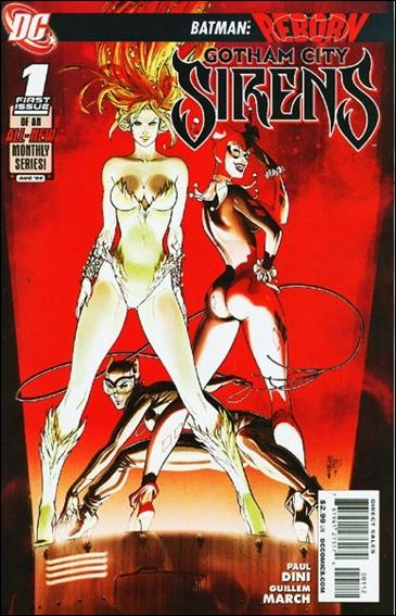 Gotham City Sirens 1-C by DC