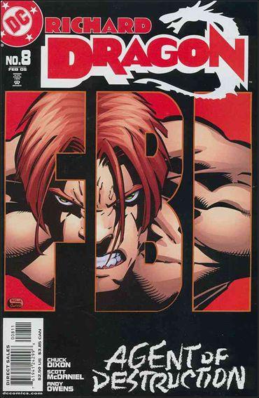 Richard Dragon 8-A by DC