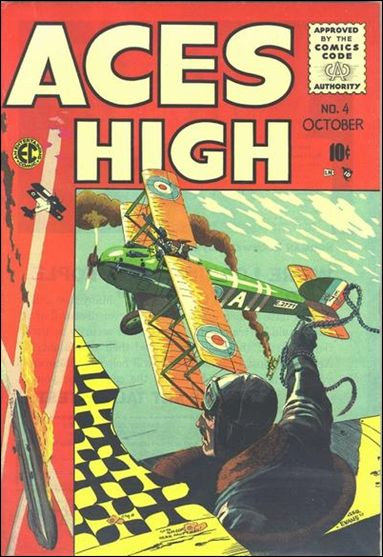 Aces High (1955) 4-A by E.C.