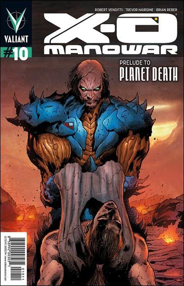 X-O Manowar (2012)  10-A by Valiant Entertainment