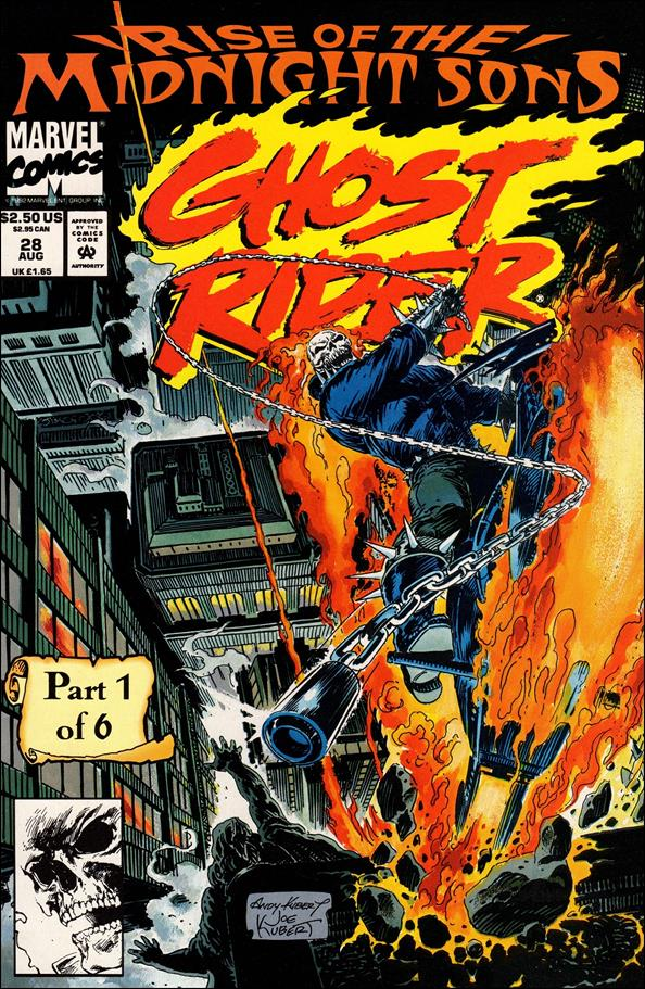 Ghost Rider (1990) 28-B by Marvel