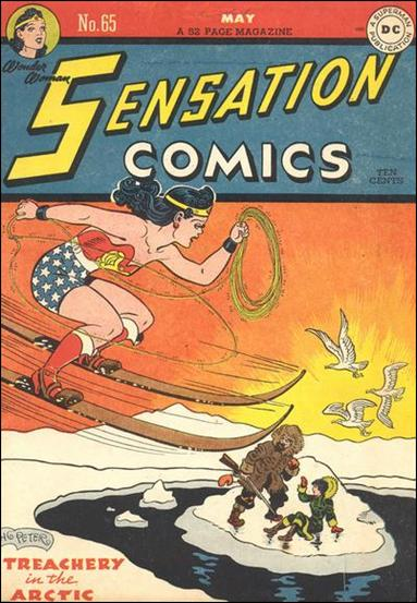 Sensation Comics (1942) 65-A by DC