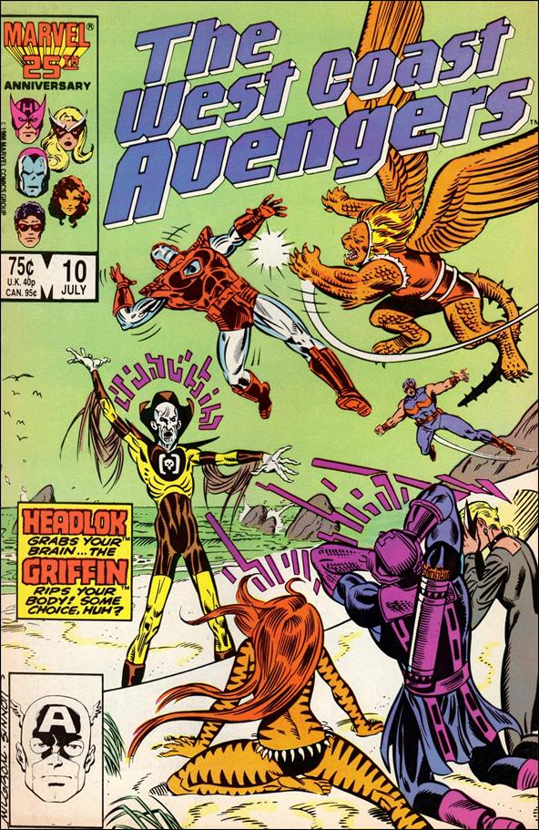 West Coast Avengers (1985) 10-A by Marvel