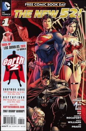 DC Comics - The New 52 FCBD Special Edition 1-J