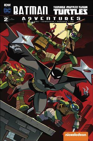 Batman/Teenage Mutant Ninja Turtles Adventures 2-D