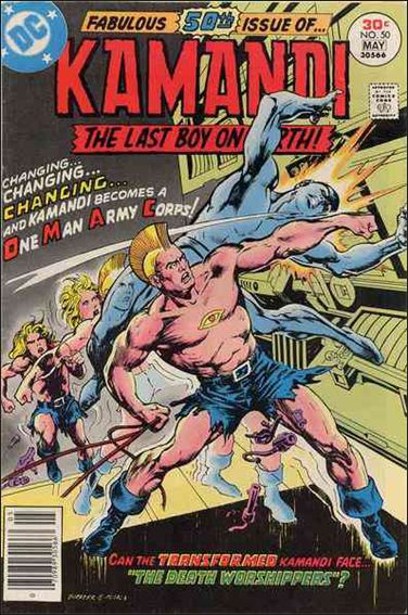 Kamandi, the Last Boy on Earth 50-A by DC
