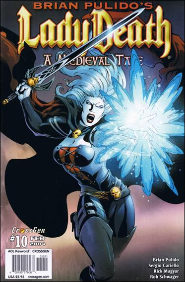 Brian Pulido's Lady Death: A Medieval Tale 10-A by CrossGen