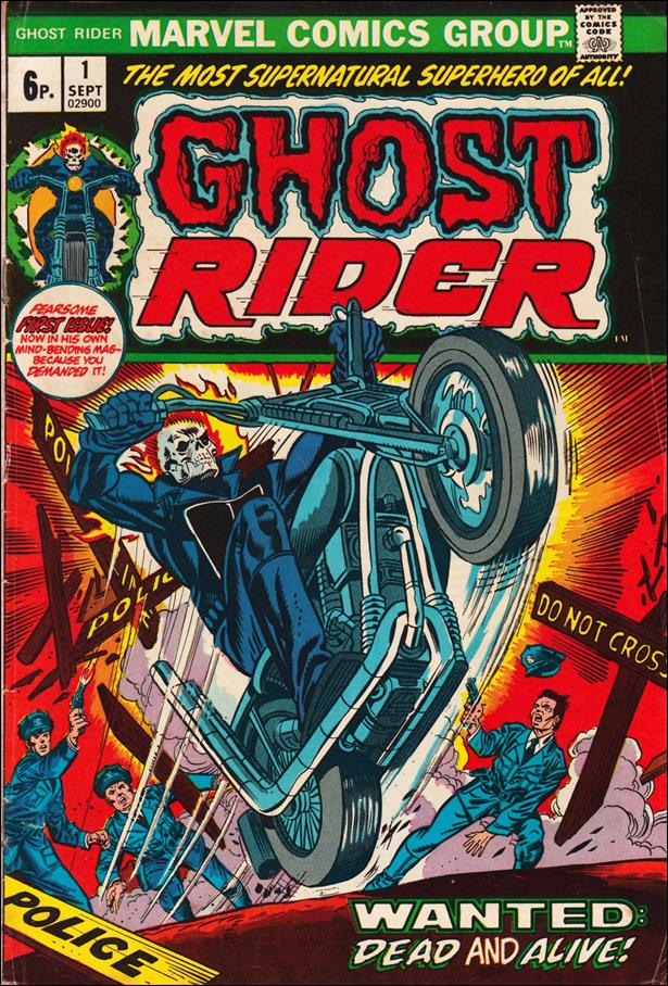 Ghost Rider (1973) 1-B by Marvel