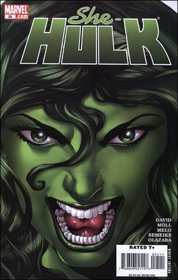 She-Hulk (2005) 25-A by Marvel