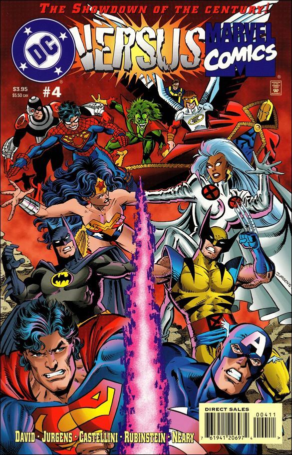 DC Versus Marvel/Marvel Versus DC 4-A by DC
