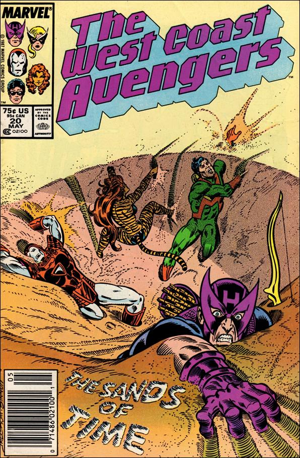 West Coast Avengers (1985) 20-A by Marvel