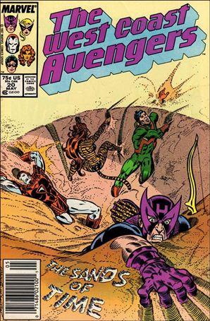 West Coast Avengers (1985) 20-A