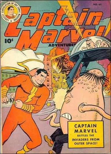 Captain Marvel Adventures 65-A by Fawcett