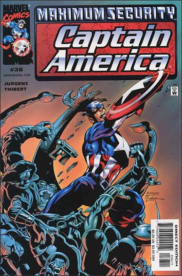 Captain America (1998) 36-A by Marvel