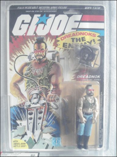 "G.I. Joe: A Real American Hero 3 3/4"" Basic Action Figures Ripper (Dreadnok) by Hasbro"