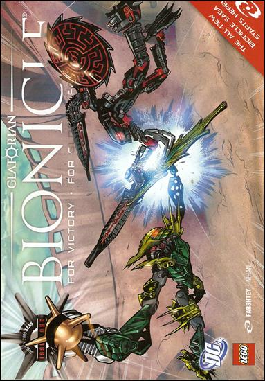 Bionicle Glatorian 1-A by DC