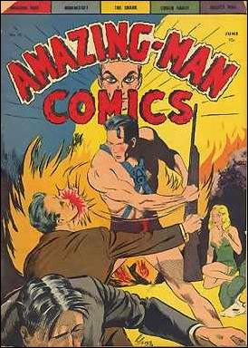 Amazing Man Comics 13-A by Centaur Publications Inc.