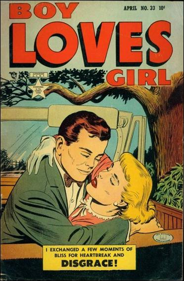 Boy Loves Girl 33-A by Lev Gleason Productions