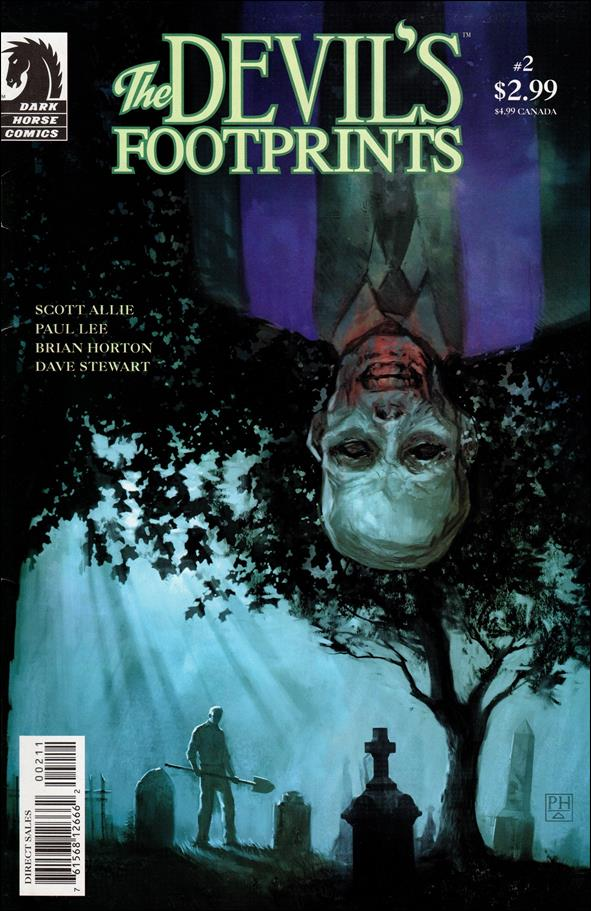Devil's Footprints 2-A by Dark Horse