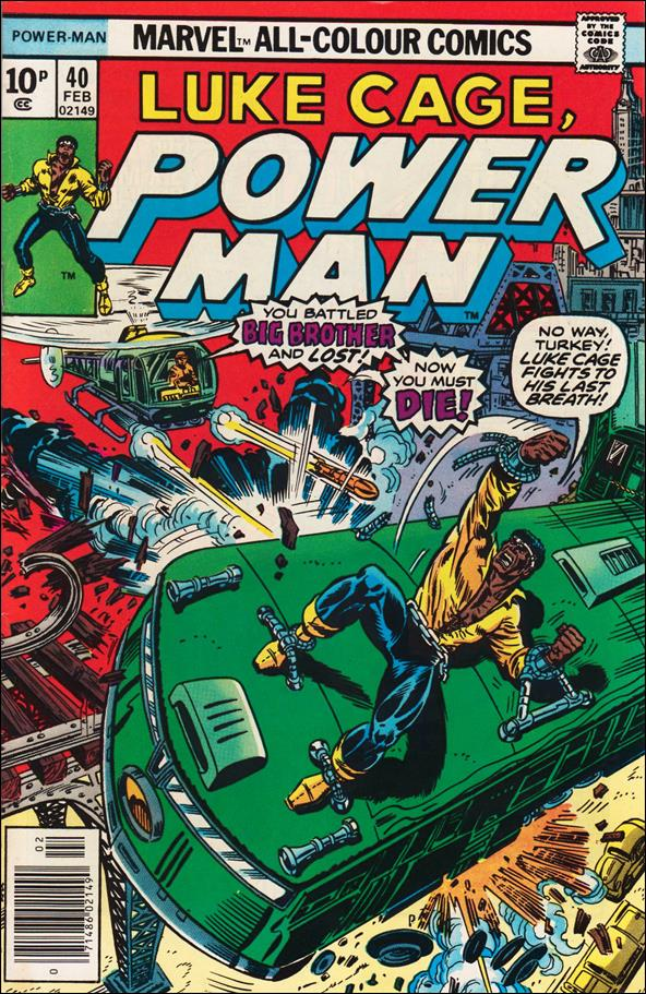 Power Man 40-B by Marvel