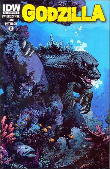 Godzilla (2012) 2-A by IDW