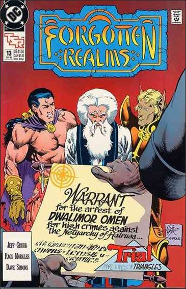 Forgotten Realms 13-A by DC