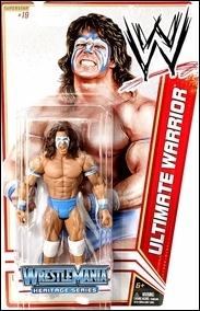 WWE Superstars (2012) Ultimate Warrior by Mattel
