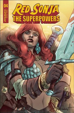 Red Sonja: The Superpowers 4-G