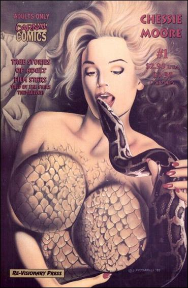 Carnal Comics: Chessie Moore 1-A by Re-Visionary
