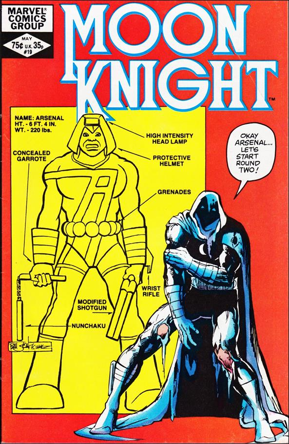 Moon Knight (1980) 19-A by Marvel