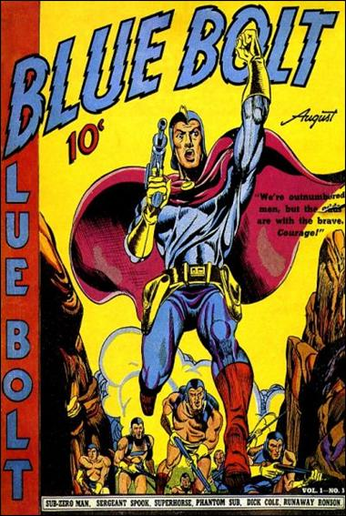 Blue Bolt (1940) 3-A by Novelty Press