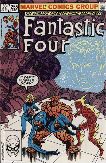 Fantastic Four (1961) 255-A by Marvel