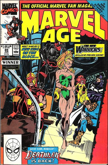 Marvel Age 89-A by Marvel
