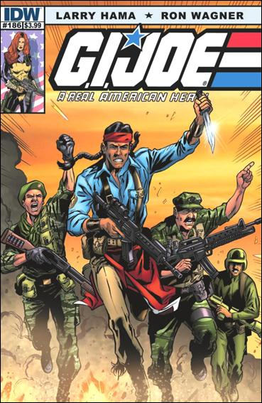 G.I. Joe: A Real American Hero 186-A by IDW