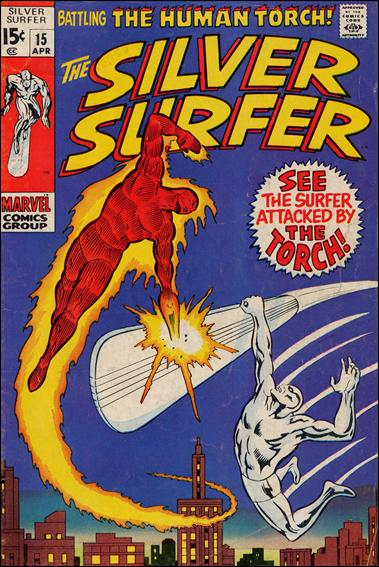 Silver Surfer (1968) 15-A by Marvel