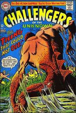 Challengers of the Unknown (1958) 60-A by DC