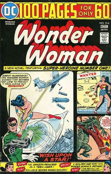 Wonder Woman (1942) 214-A by DC