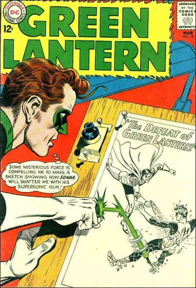 Green Lantern (1960) 19-A by DC