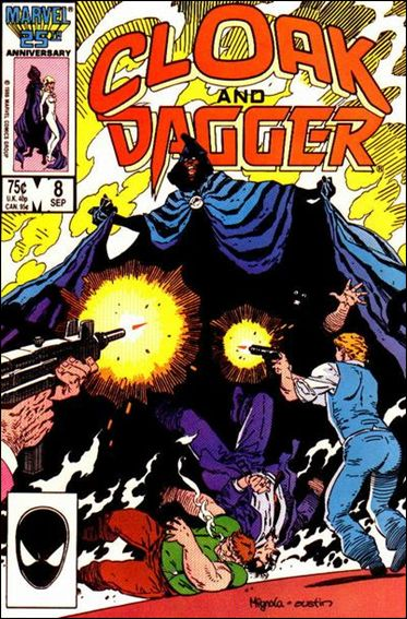 Cloak and Dagger (1985) 8-A by Marvel