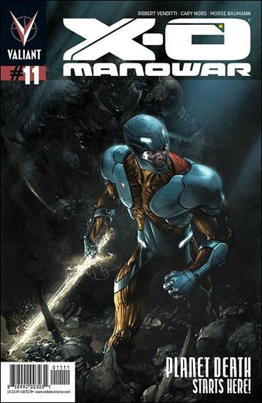X-O Manowar (2012)  11-A by Valiant Entertainment